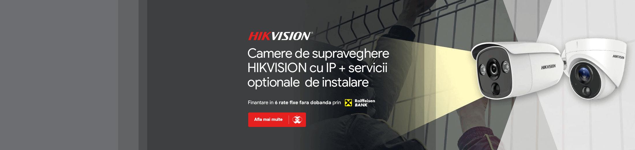 Camere de supraveghere Hikvision