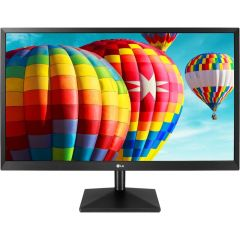 "Monitor LG LED IPS 27"", Full HD, Black, 27MK400H-B"
