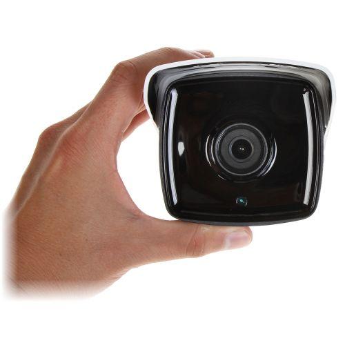 Camera IP Bullet Hikvision DS-2CD2T83G0-I8, 4K UHD, 8 MP, lentila fixa 6 mm, IR 80 m, PoE 802.3af & 12V DC