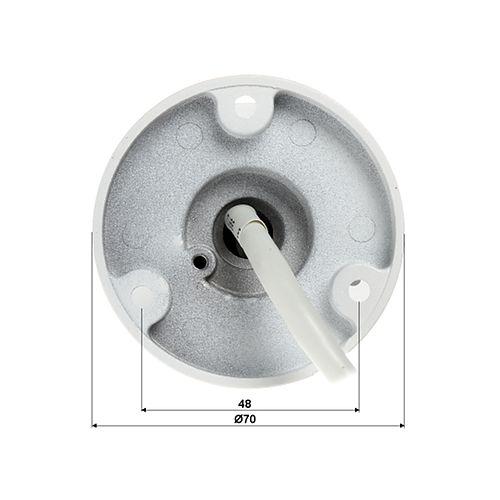 Camera de supraveghere IP Bullet Hikvision DS-2CD2025FWD-I, Full HD, 2 MP, lentila fixa 2.8 mm, IR 30 m, IP67, alimentare PoE 802.3af sau 12V DC