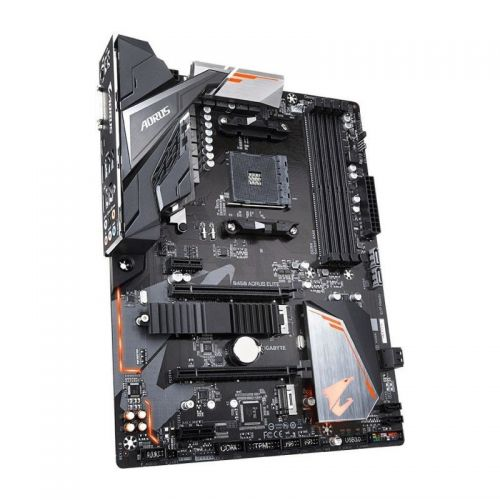 Placa de baza Gigabyte B450 AORUS ELITE, Socket AM4