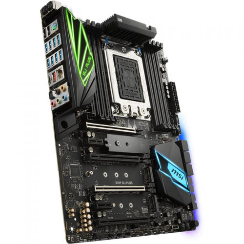 Placa de baza MSI X399 SLI PLUS, Socket TR4