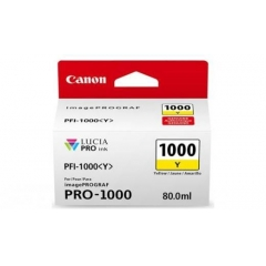 CANON PFI-1000Y YELLOW INKJET CARTRIDGE