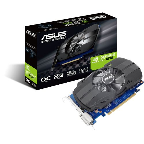 Placa video Asus® GeForce® GT™ 1030 OC Edition, 2GB GDDR5, 64-bit