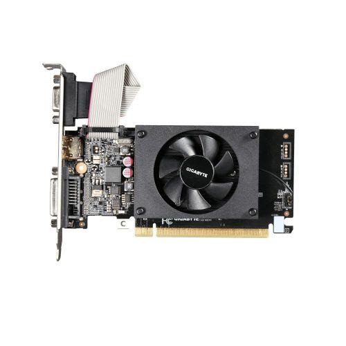 Placa video Gigabyte NVIDIA® GT™ 710, 2GB GDDR3, 64-bit