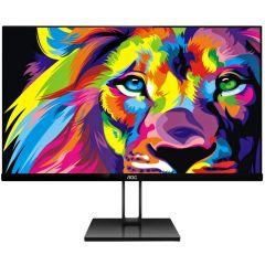"""Monitor AOC LED IPS 21.5"""", Full HD, Black, 22V2Q"""