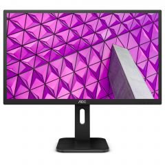 "Monitor AOC LED IPS 27"", Wide Quad HD, Black, Q27P1"