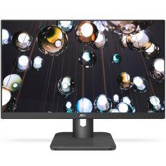 """Monitor AOC LED IPS 23.8"""", Full HD, Black, 24E1Q"""