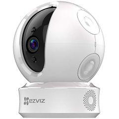 Camera de supraveghere IP Wi-Fi PT Ezviz ez360 CS-CV246 (CS-CV246-B0-3B2WFR), Full HD, 2 MP, lentila fixa 4 mm, IR 10 m, alimentare 5V DC