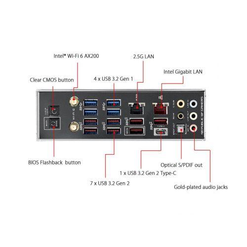 Placa de baza ASUS ROG X570 CROSSHAIR VIII HERO WIFI, Socket AM4