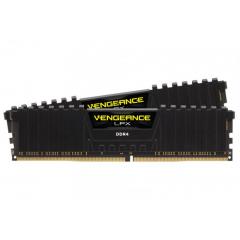 Kit Memorie RAM Desktop PC Corsair Vengeance LPX XMP 2.0 Black 16GB ( 2 x 8 GB ) DDR4 1.2V, 2666 MHz, CL16, DIMM, model CMK16GX4M2A2666C16