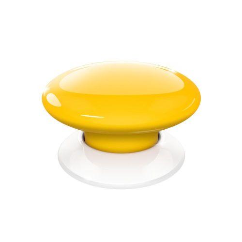Buton de comanda FIBARO, Z-Wave Plus, Galben