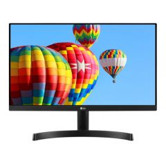 "Monitor LG LED IPS 21.5"", Full HD, Black, 22MK600M-B"