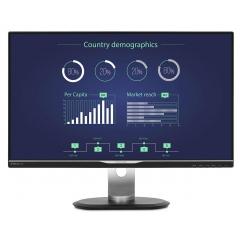 "Monitor PHILIPS LED IPS 25"", Wide Quad HD, Black, 258B6QUEB"